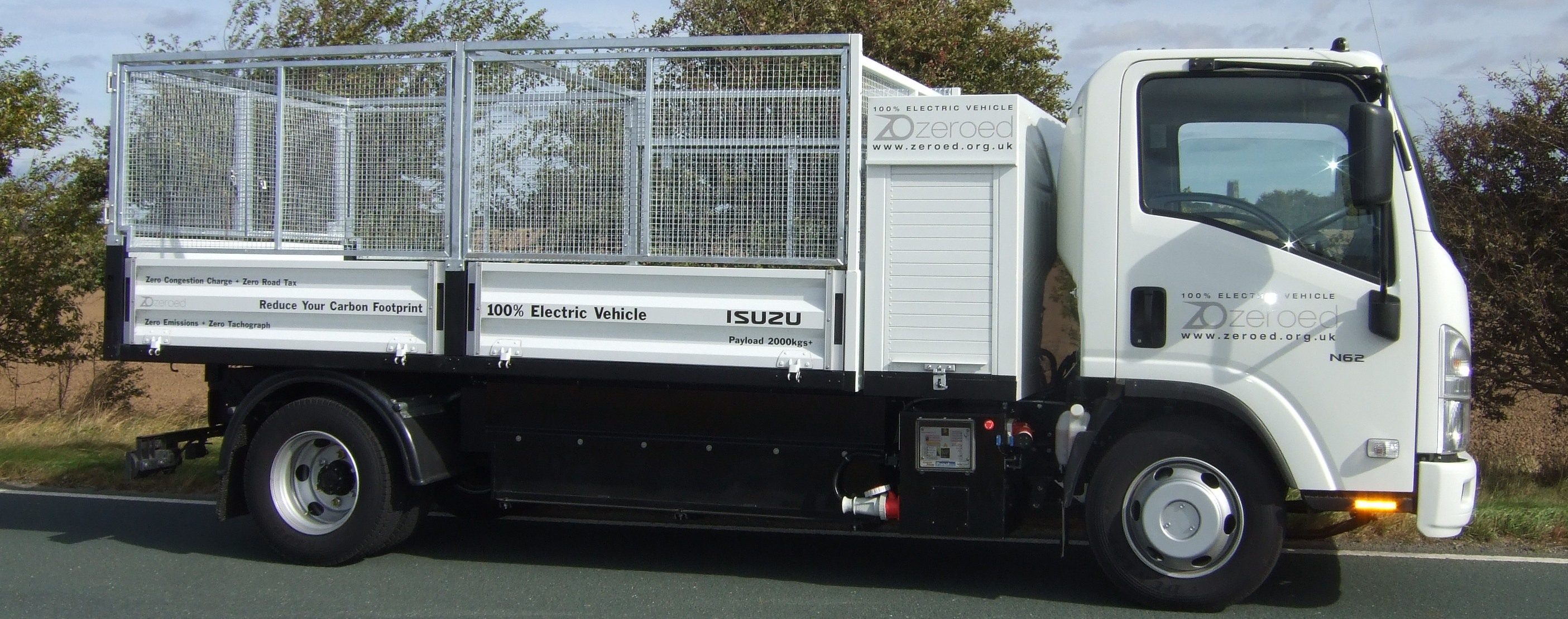 6.2t Caged Tipper, 100 miles per day